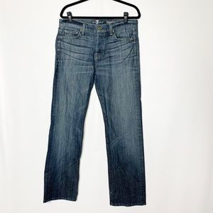 7 for all mankind standard fit jeans size 33